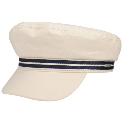 Stetson Canvas Elbsegler Fisherman Cap Baker-Boy-Mütze Newsboy Schirmmütze Baumwollcap Kapitänsmütze - Bild 1