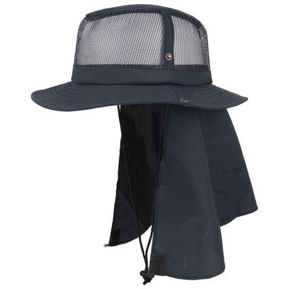 Boon Nylon Hut mit Nackenschutz Nylonhut Sommerhut Sonnenhut Strandhut Hut - Bild 1