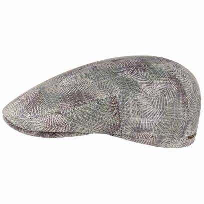 Stetson Kent Palm Leaf Flatcap Baumwollcap Schirmmütze Schiebermütze Sommercap - Bild 1