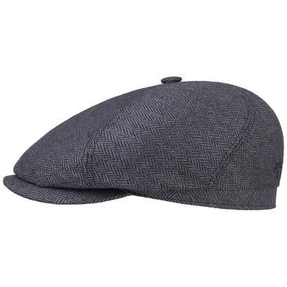 Stetson Milner Seiden Flatcap Schirmmütze Seidencap Schiebermütze Sommercap - Bild 1