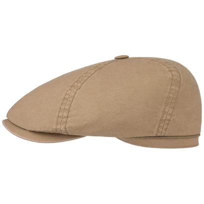 Stetson Delave Organic Cotton Flatcap Baumwollcap Schiebermütze Sommercap Schirmmütze - Bild 1