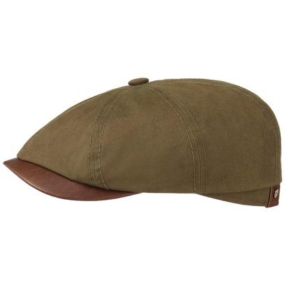 Stetson Hatteras Waxed Cotton Outdoor Cap Schirmmütze Ballonmütze Baumwollcap Sommercap Flatcap - Bild 1