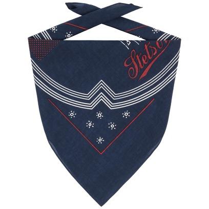 Stetson Newport Bandana Halstuch Kopftuch Baumwolltuch Bandanatuch Tuch - Bild 1