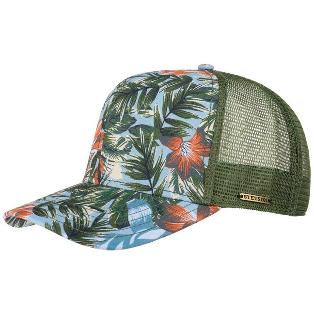 Stetson Flower Trucker Cap Basecap Baseballcap ...