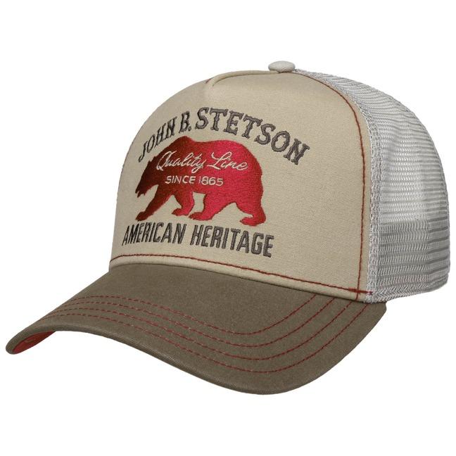 Stetson JBS-Bear Trucker Cap Basecap Baseballca...