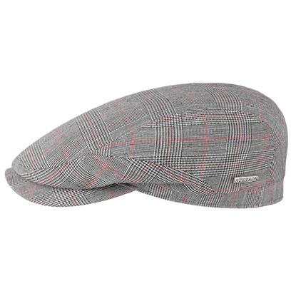 Stetson Ballico Wool Check Flatcap Schiebermütze Schirmmütze Wollcap - Bild 1