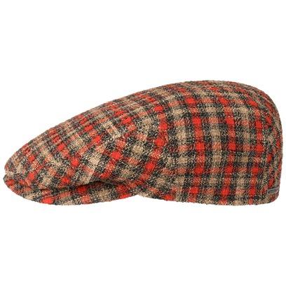 Stetson Kent Millbury Check Flatcap Baumwollcap Schirmmütze Schiebermütze Sommercap - Bild 1