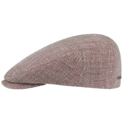 Stetson Ellington Flatcap Schirmmütze Schiebermütze Wollcap Leinencap Sommercap - Bild 1