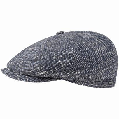 Stetson Hatteras Greeley Cotton Flatcap Schirmmütze Ballonmütze Baumwollcap Sommercap - Bild 1