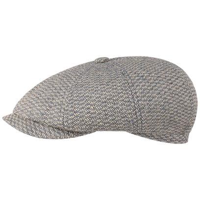 Stetson Hatteras Heritage Silk Wool Flatcap Schirmmütze Ballonmütze Seidencap Wollcap Sommercap - Bild 1