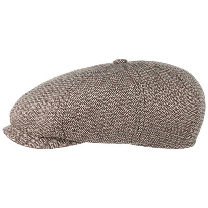 Stetson 8 Panel Heritage Silk Wool Flatcap Schirmmütze Ballonmütze Seidencap Wollcap Sommercap - Bild 1
