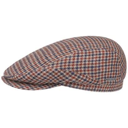 Stetson Varysburg Check Flatcap Schirmmütze Schiebermütze Leinencap Sommercap - Bild 1