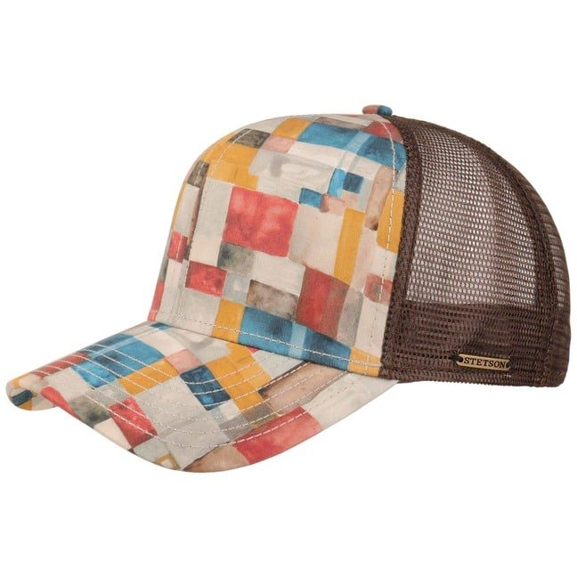 Stetson Watercolours Cotton Trucker Cap Basecap...