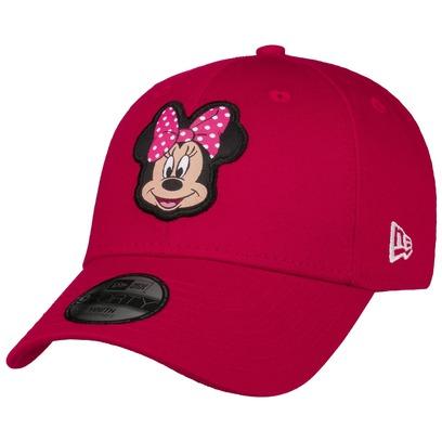 New Era 9Forty Kids Minnie Mouse Cap Baseballcap Basecap Strapback Kindercap Comic