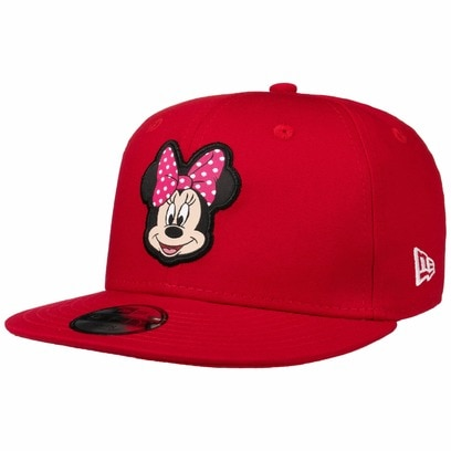 New Era 9Fifty Kids Minnie Mouse Cap Baseballcap Basecap Snapback Flat Brim Comic