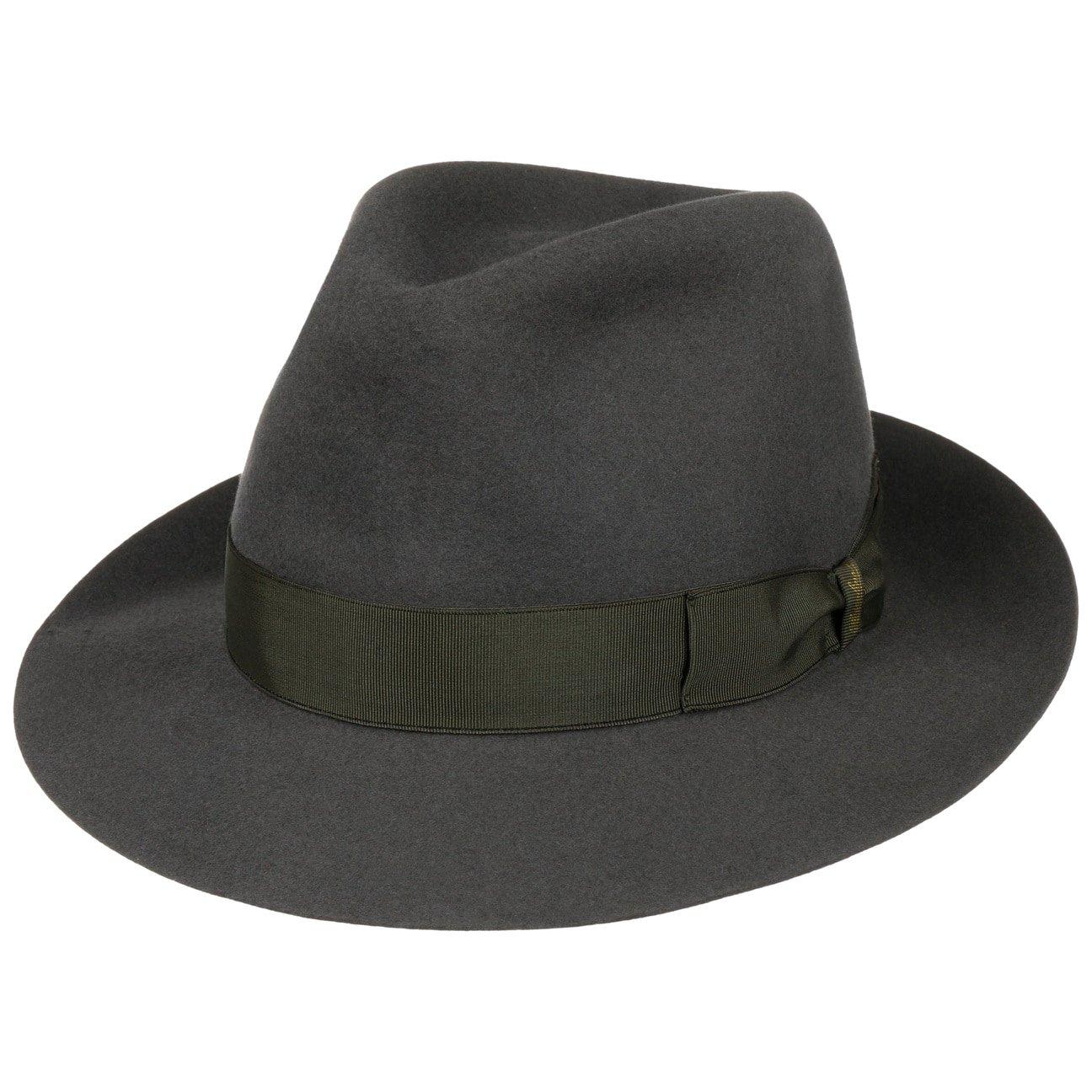... 50 Grams Men´s Fedora Hat by Borsalino - grey 5 ... 1e84381d40d