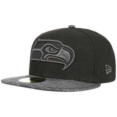 New Era 59Fifty GC Seahawks Cap Seattle NFL Basecap Baseballcap Fitted Flat Brim Kappe Käppi