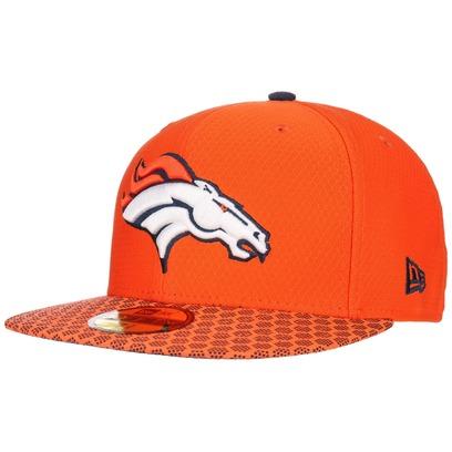 New Era 59Fifty ONF Broncos Cap NFL Flat Brim Fitted Basecap Baseballcap Kappe Käppi Denver