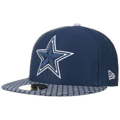 New Era 59Fifty ONF Cowboys Cap Flat Brim Basecap Baseballcap Kappe Dallas NFL