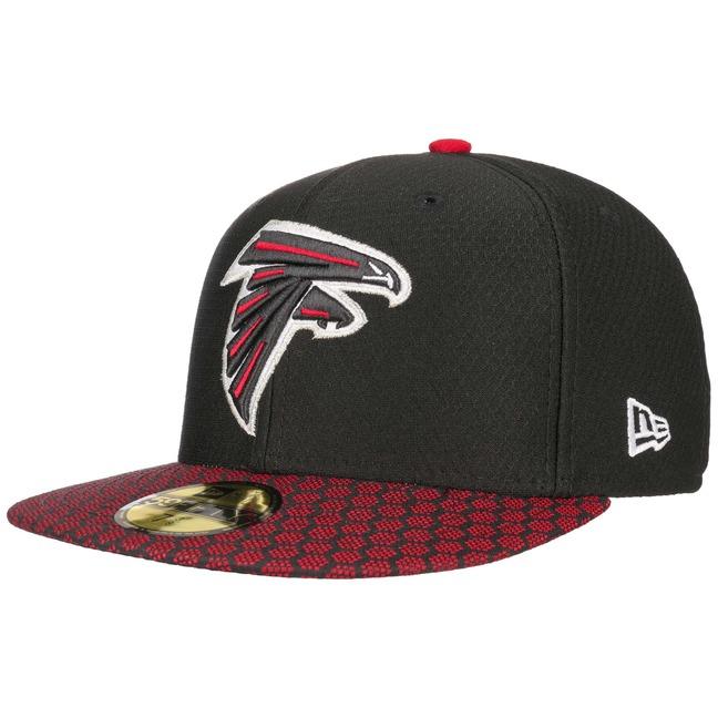 59Fifty ONF Falcons Cap NFL Flat Brim Fitted Basecap Baseballcap Kappe K