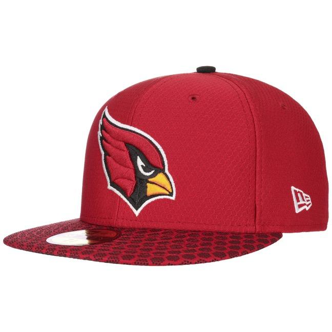 59Fifty ONF Cardinals Cap NFL Flat Brim Fitted Basecap Baseballcap Kappe K