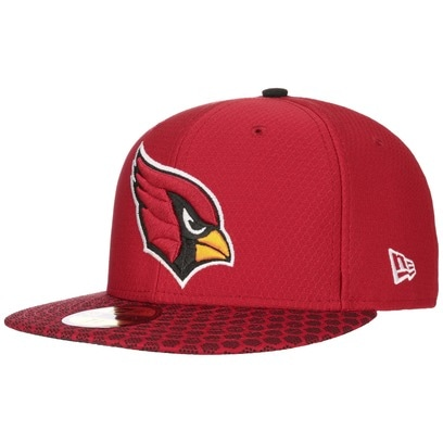 New Era 59Fifty ONF Cardinals Cap NFL Flat Brim Fitted Basecap Baseballcap Kappe Käppi Arizona