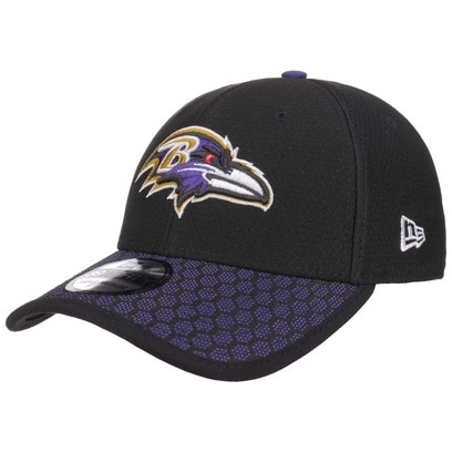 New Era 39Thirty ONF Ravens Cap NFL Curved Brim Fitted Basecap Baseballcap Baltimore Kappe Käppi