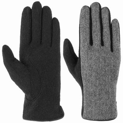 Roeckl Herringbone Mix Wollhandschuhe Handschuhe Damenhandschuhe Fingerhandschuhe - Bild 1