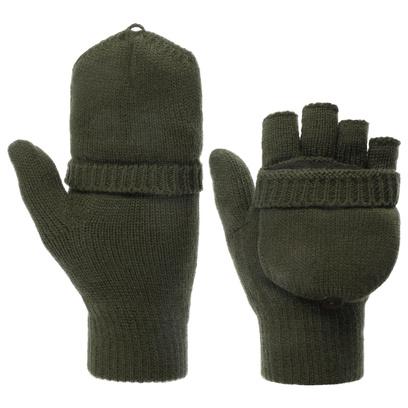 Lipodo Thinsulate Fingerless Handschuhe Fingerlose Strickhandschuhe - Bild 1