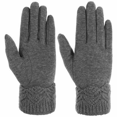 Lipodo Ribbed Edge Damenhandschuhe Handschuhe Fingerhandschuhe Baumwollhandschuhe