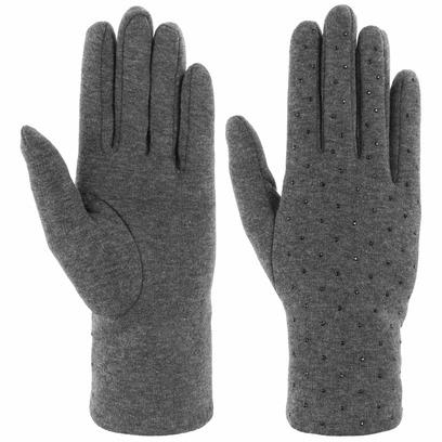 Lipodo Strass Damenhandschuhe Handschuhe Fingerhandschuhe Baumwollhandschuhe