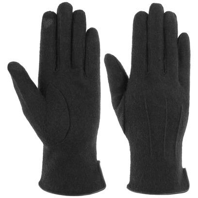 Lipodo Heart Touch Filzhandschuhe Handschuhe Fingerhandschuhe Damenhandschuhe Wollhandschuhe - Bild 1