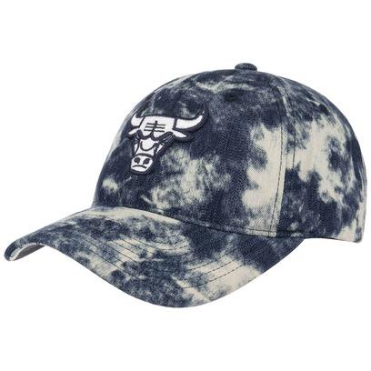 Mitchell & Ness Acid Denim Bulls Cap Basecap Baseballcap NBA Strapback Curved Brim Chicago