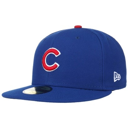 New Era 59Fifty TSF Cubs Cap Flat Brim Fitted Basecap MLB Chicago Baseballcap Kappe