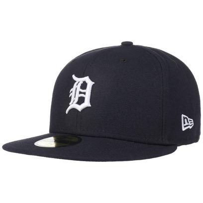 New Era 59Fifty TSF Tigers Cap Flat Brim Fitted Basecap Kappe Detroit Baseballcap