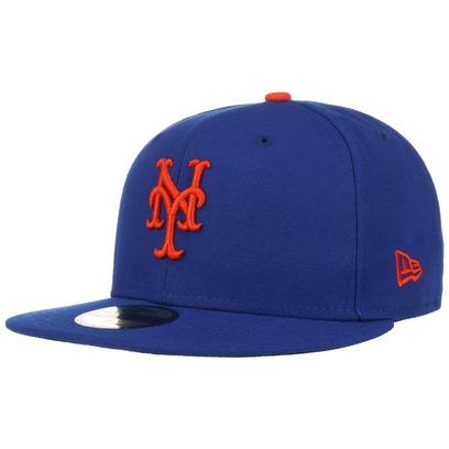 New Era 59Fifty TSF Mets Cap Fitted Basecap Baseballcap Kappe Flat Brim New York MLB
