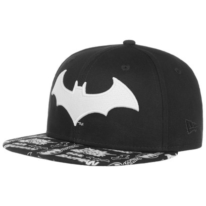New Era 9Fifty Junior GITD Batman Cap Basecap Baseballcap Flatbrim Snapback Comic Kappe