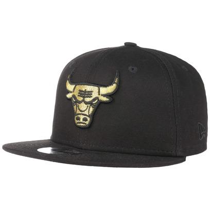 New Era 9Fifty Junior Golden Bulls Cap Baseballcap Basecap Snapback NBA Flat Brim Chicago Kindercap