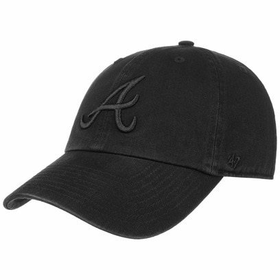 47 Brand Clean Up Braves BOB Cap Strapback MLB Basecap Baseballcap Atlanta Curved Brim - Bild 1