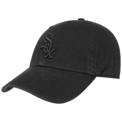 47 Brand Clean Up White Sox BOB Cap Strapback MLB Basecap Baseballcap Chicago Curved Brim - Bild 1