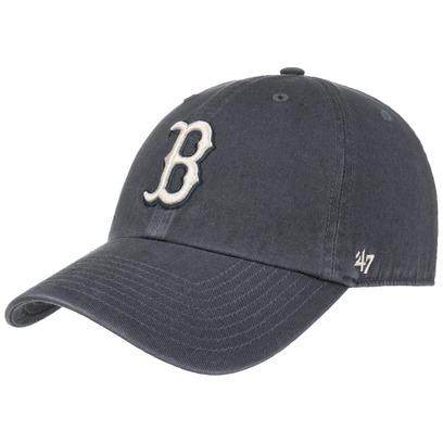 47 Brand Clean Up Vintage Red Sox Cap MLB Boston Basecap Baseballcap Kappe Käppi Curved Brim - Bild 1
