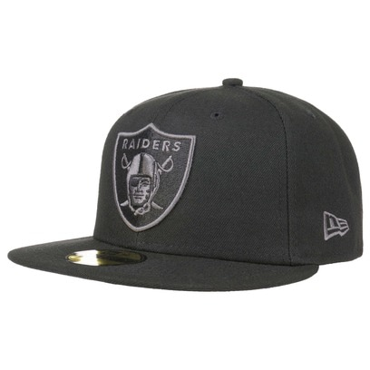 New Era 59Fifty BG Raiders Cap Oakland NFL Basecap Baseballcap Fitted Flat Brim Kappe