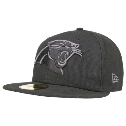 New Era 59Fifty BG Panthers Cap Carolina NFL Basecap Baseballcap Fitted Flat Brim Kappe