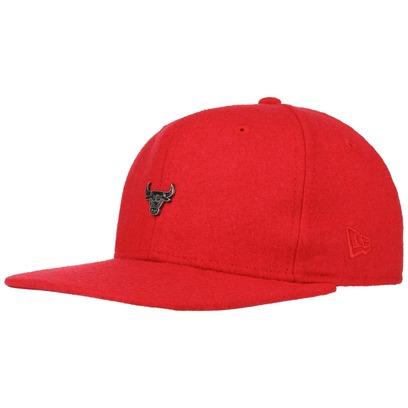 New Era 9Fifty Pin Bulls Cap NBA Chicago Flat Brim Snapback Basecap Baseballcap Kappe