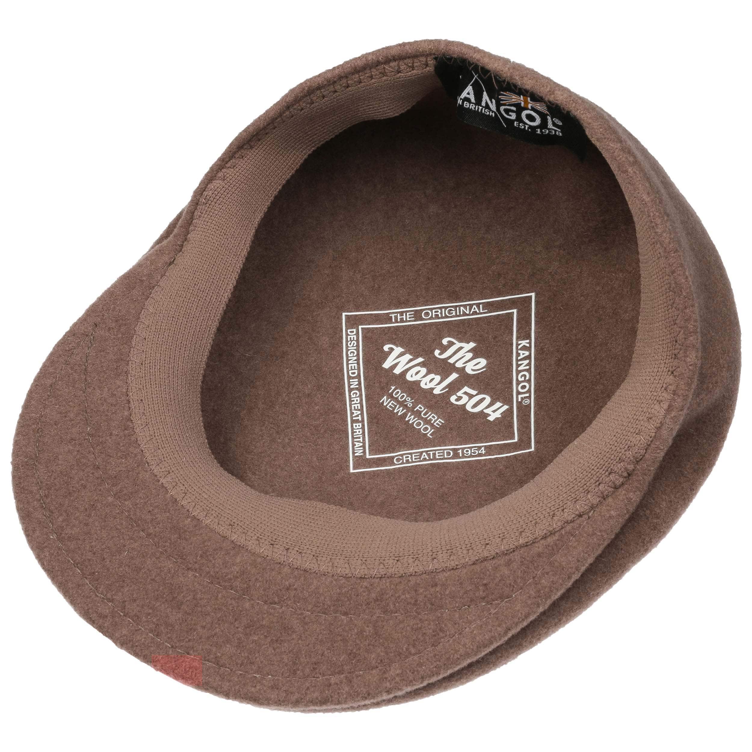 ... 504 Flat Cap by Kangol - light brown 2 ... 6aa614522d