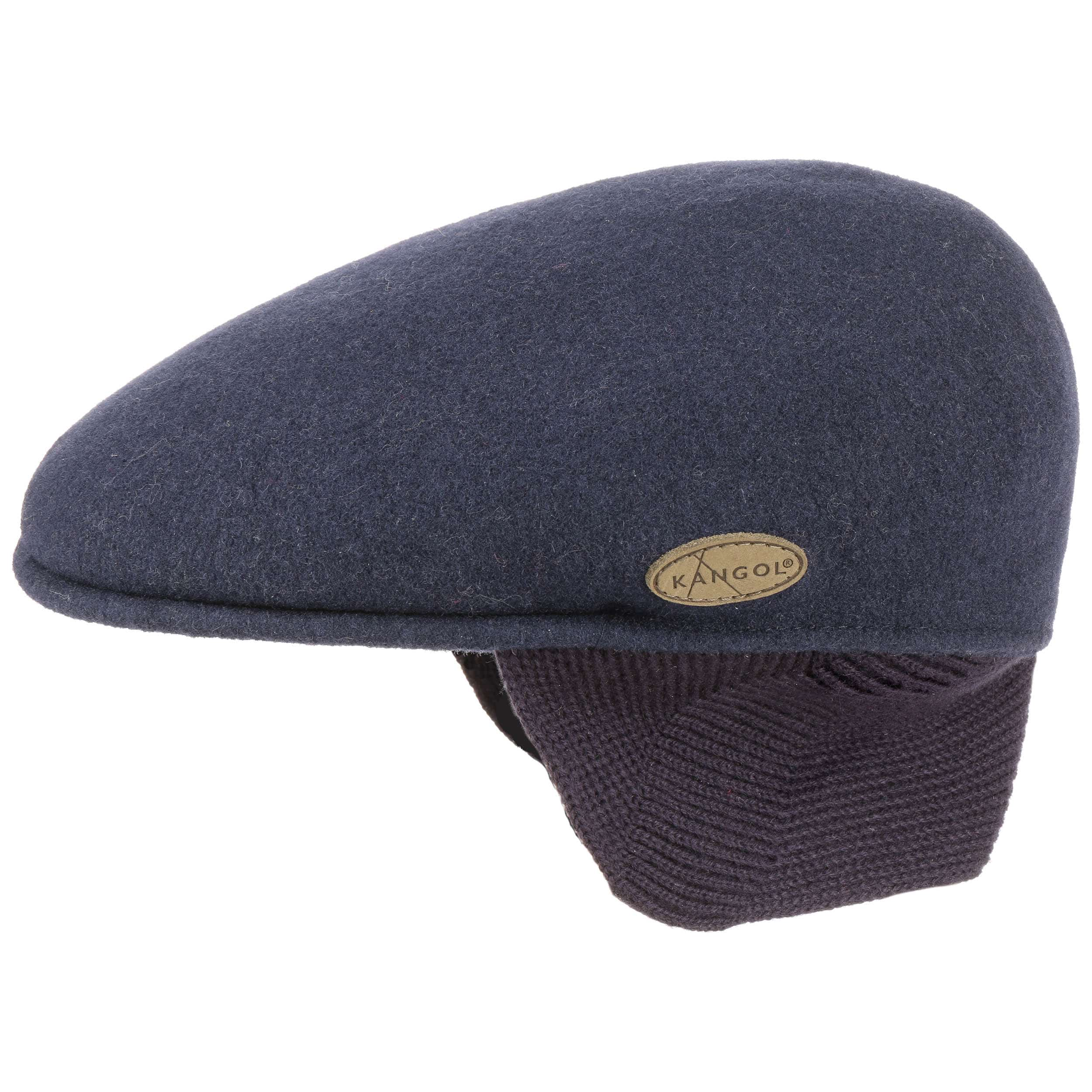 504 Flat Cap with Ear Flaps by Kangol db9d0190277