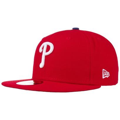New Era 59Fifty AC Perf Phillies Cap Fitted Basecap Baseballcap MLB Flat Brim Philadelphia Kappe