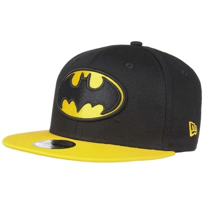 New Era 9Fifty Kids Ess Batman Cap Comic Kindercap Snapback Flat Brim Basecap Baseballcap Kappe