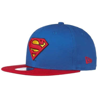 New Era 9Fifty Kids Superman Cap Baseballcap Basecap Snapback Flat Brim Kindercap
