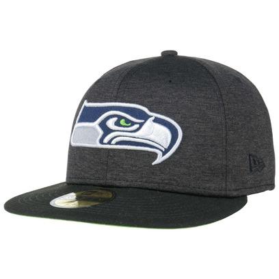 New Era 59Fifty Shadow Tech Seahawks Cap Baseballcap Basecap Fitted NFL-Cap Flat Brim Seattle